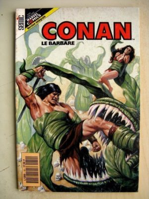 CONAN N° 19 L'hiver des mécontents (Don Kraar – Mike Docherty) SEMIC Marvel Version Intégrale