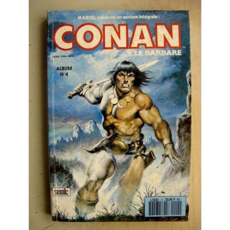 CONAN Album 4 (N°10,11,12) La Tour (Don Kraar - Mike Docherty) SEMIC Marvel Version Intégrale