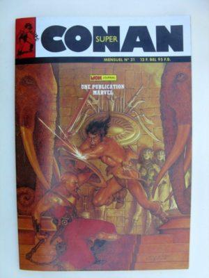 SUPER CONAN N°31 Exil au Roc des Tortures (fin) Michael Fleisher – Alfredo Alcala