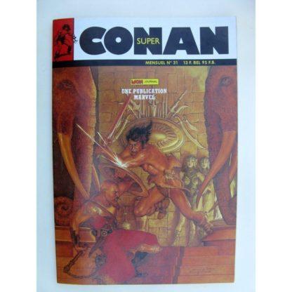 SUPER CONAN N°31 Exil au Roc des Tortures (fin) Michael Fleisher - Alfredo Alcala