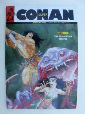 SUPER CONAN N°47 Le singe vampire de Marmet Tarn (suite) Michael Fleisher – John Buscema