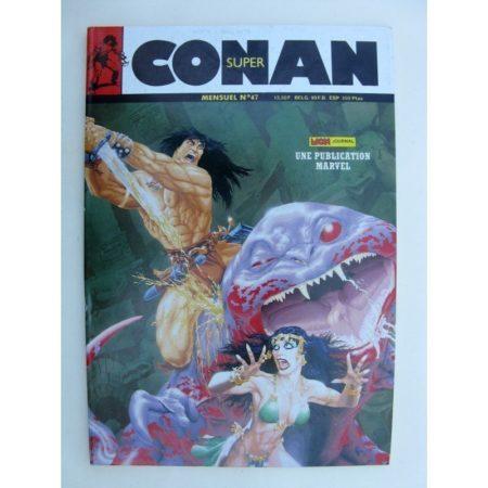 SUPER CONAN N°47 Le singe vampire de Marmet Tarn (suite) Michael Fleisher - John Buscema