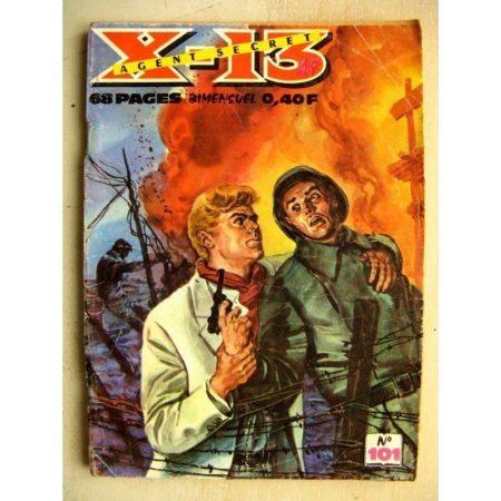 X13 AGENT SECRET N° 101 Echec