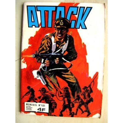 ATTACK 2E SERIE N° 121 Les loups se rassemblent (Impéria 1981)