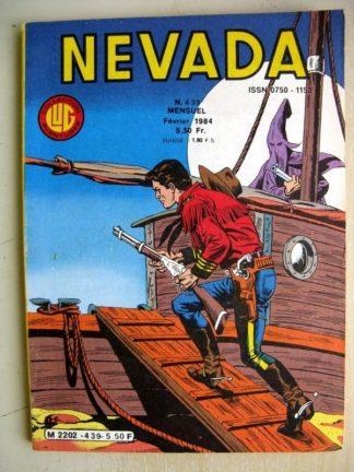 NEVADA N° 439 Le Petit Ranger (Anne Astor) Tumac (L'odyssée d'Eva - 2) LUG 1984