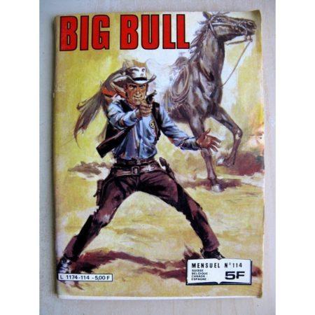 BIG BULL N° 114 La Preuve - La chance de Lucky Lannagan (Impéria 1982)