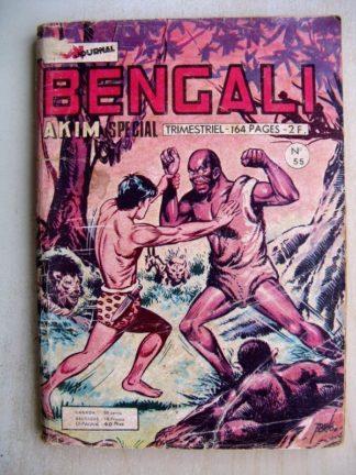 BENGALI N° 55 Akim - Le sorcier maudit