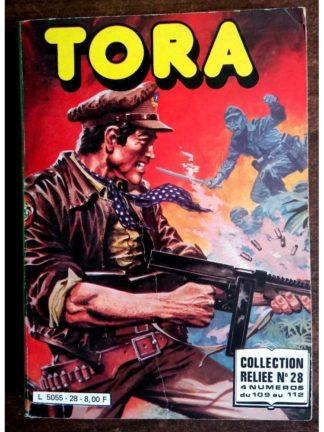 TORA LES TIGRES VOLANTS ALBUM RELIE 28 (N°109-110-111-112) IMPERIA 1981