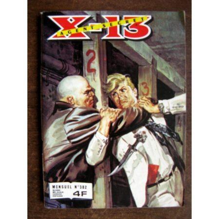 X13 AGENT SECRET N°382 Butin de guerre (IMPERIA 1981)