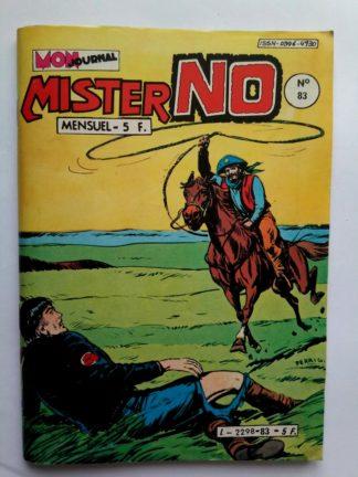 BD MISTER NO N°83 - Mon Journal