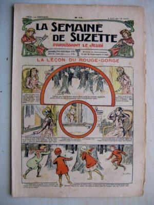 La Semaine de Suzette 7e année n°10 (1911) La leçon du Rouge-Gorge