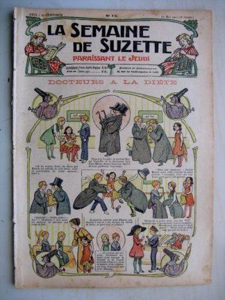 La Semaine de Suzette 7e année n°15 (1911) Docteur à la diète (Bleuette - Robe d'été)