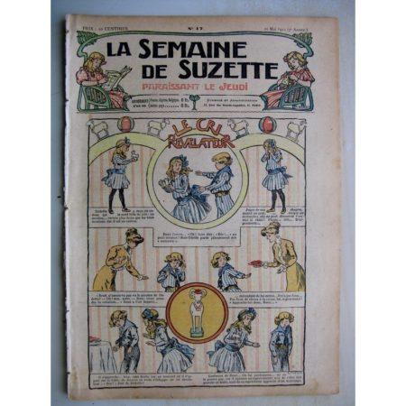 La Semaine de Suzette 7e année n°17 (1911) Le cri révélateur - Les présents des Korrigans (légende bretonne)