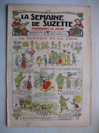 La Semaine de Suzette 7e année n°40 (1911) La monnaie de la pièce (Henri Avelot)