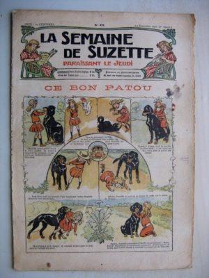 La Semaine de Suzette 7e année n°43 (1911) Ce bon patou (Bleuette - Corsets)