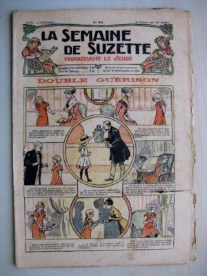 La Semaine de Suzette 7e année n°39 (1911) Double guérison (Bleuette - pantoufles cosaques)