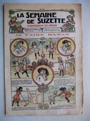 La Semaine de Suzette 7e année n°49 (1912) Je t'aime maman (Bleuette – Layette Jackson)