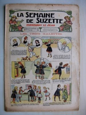 La Semaine de Suzette 7e année n°51 (1912) Les trois galettes – Raton le brigand (Jean d'Aurian)