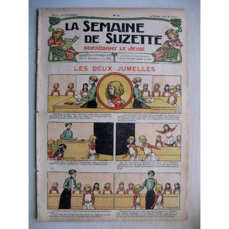 La Semaine de Suzette 8e année n°5 (1912) Les deux jumelles (Raymond de la Nézière)