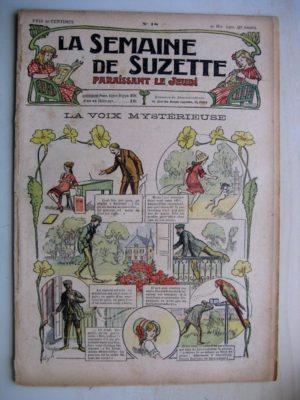 La Semaine de Suzette 8e année n°18 (1912) La voix mystérieuse (Guydo) Bleuette – Manteau habillé