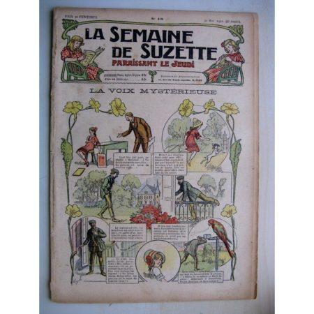 La Semaine de Suzette 8e année n°18 (1912) La voix mystérieuse (Guydo) Bleuette - Manteau habillé
