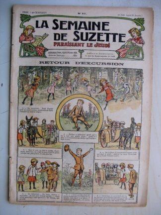 La Semaine de Suzette 8e année n°19 (1912) La malicieuse doctoresse (Léonce Burret) Bleuette Tablier anglais