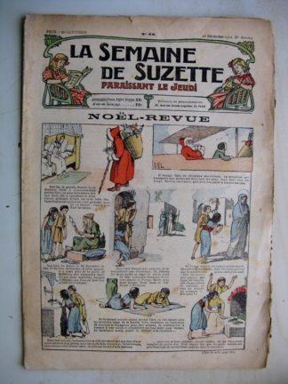 La Semaine de Suzette 8e année n°48 (1912) Noël revue (Pinchon)