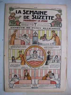La Semaine de Suzette 9e année n°9 (1913) Annette se punit elle-même – Hommes de Terre Noire (conte Périgourdin)