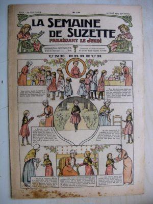 La Semaine de Suzette 9e année n°10 (1913) Une erreur – Jeannot et jeannotin (Jean d'Aurian)