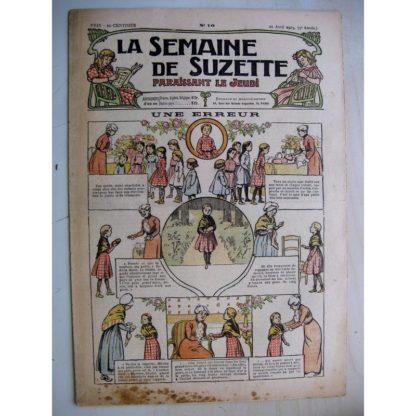 La Semaine de Suzette 9e année n°10 (1913) Une erreur - Jeannot et jeannotin (Jean d'Aurian)