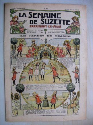 La Semaine de Suzette 9e année n°12 (1913) Le jardin de Simone - L'enfance de Bécassine (12)
