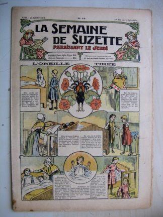 La Semaine de Suzette 9e année n°13 (1913) L'oreille tirée - Bleuette (robe d'été) L'enfance de Bécassine (13)