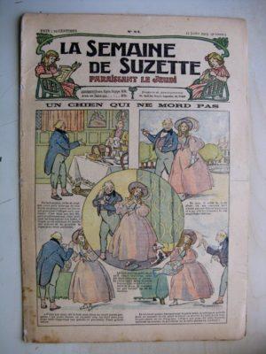 La Semaine de Suzette 9e année n°24 (1913) Un chien qui ne mord pas (Léonce Burret) Bleuette (costume de pêcheuse 2)