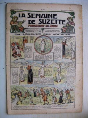 La Semaine de Suzette 9e année n°28 (1913) La légende des sources d'Auvergne – L'enfance de Bécassine (28)