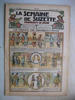 La Semaine de Suzette 9e année n°34 (1913) Le choix de Brise du Soir – Cortège d'automne (Léonce Burret)