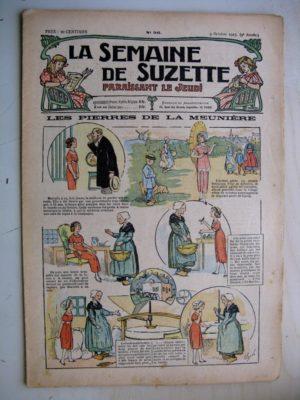 La Semaine de Suzette 9e année n°36 (1913) Les pierres de la meunière (Guydo) – L'anglaise (Jehan Testevuide)