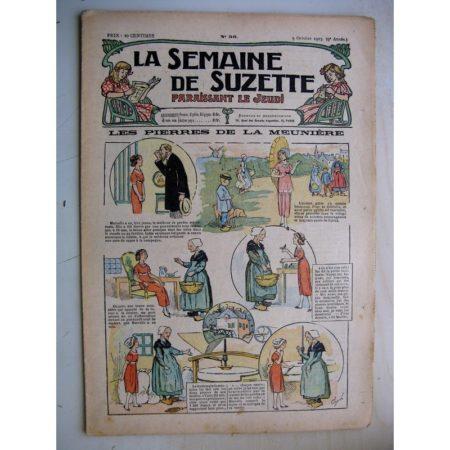 La Semaine de Suzette 9e année n°36 (1913) Les pierres de la meunière (Guydo) - L'anglaise (Jehan Testevuide)