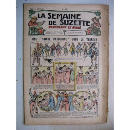 La Semaine de Suzette 9e année n°42 (1913) Une sainte Catherine sous la Terreur (R. de la Nézière)