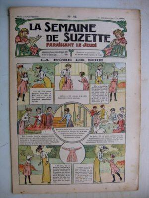 La Semaine de Suzette 9e année n°46 (1913) La robe de soie – Le troisième convive (conte oriental) Pinchon