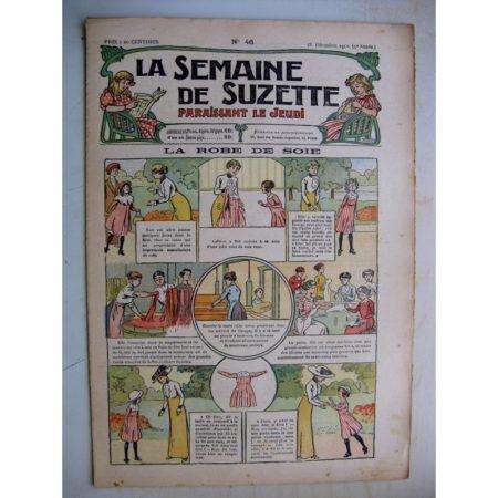 La Semaine de Suzette 9e année n°46 (1913) La robe de soie - Le troisième convive (conte oriental) Pinchon