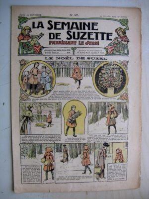La Semaine de Suzette 9e année n°47 (25 décembre 1913) Le Noël deSuzel - Le sabot merveilleux (conte)