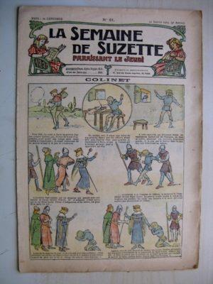 La Semaine de Suzette 9e année n°51 (1914) Colinet (Léonce Burret) Bleuette (Corset Brassière)