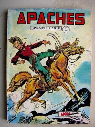 APACHES N°43 RexApache (oeil pour oeil) Flèche Rouge (Le condamné à mort)