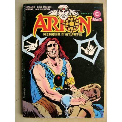 ARION SEIGNEUR D'ATLANTIS ALBUM 2 (n°3+4) L'être de glace - L'espoir du ciel (DC AREDIT 1984)