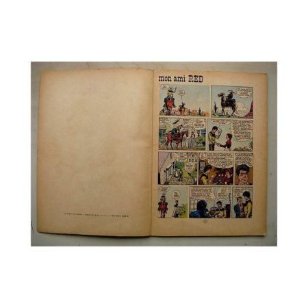 JERRY SPRING - MON AMI RED (Dupuis 1965) Edition originale