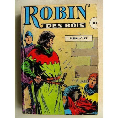 ROBIN DES BOIS ALBUM 27 (n°82-83-84) Evadé des oubliettes - Le complot du shérif - Princesse captive - BD Petit Format