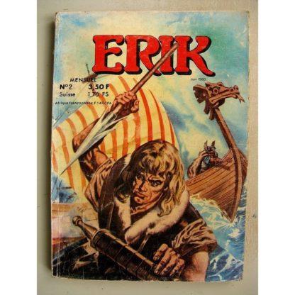 ERIK LE VIKING 2S N° 2 - LES DEMONS DE LA ROUTE - RAMON LE HEROS MASQUE - MCL JEAN CHAPELLE 1980
