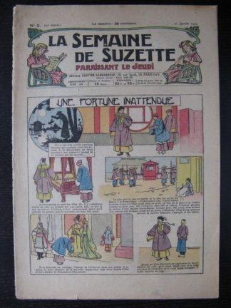 La Semaine de Suzette 25e année n°2(10 janvier 1929) Miloula la negrillonne