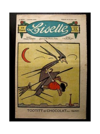 LISETTE n°232 (1925) TOOTITT ET CHOCOLAT