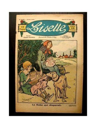 LISETTE n°246 (28 MARS 1926) LA ROBE QUI DISPARAIT (poupée Lisette)